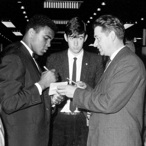 Muhammad Ali (1942- )No introduction required; boxer, social activist, philanthropist and, actually, great grandson of Ennis, Co. Clare man Abe Grady, Muhammad Ali was and will always remain in sporting fans' eyes 'the greatest'. Ali transcended sport and in 2009 travelled to his great grandfather's birthplace in Ennis and was made the first honorary freeman of the town.