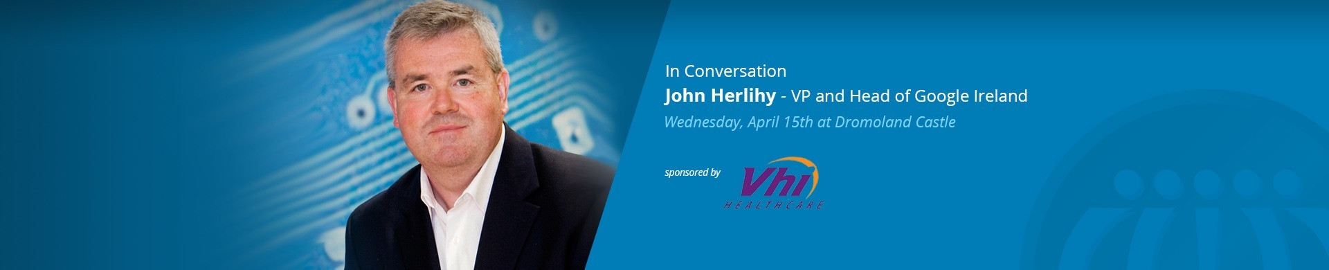 John Herlihy, VP and Head of Google Ireland