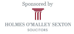 Sponsored by Holmes O'Malley Sexton Solicitors