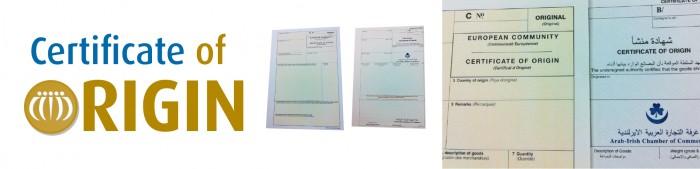 Certificates of Origin