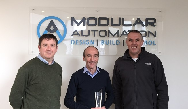 Modular Automation grows from strength to strength and announces a €2 million expansion plan with 30 new jobs for it's facility in Shannon