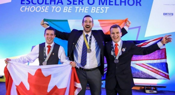 Ros Wynne wins Gold Medal in Aircraft Maintenance at WorldSkills in Brazil