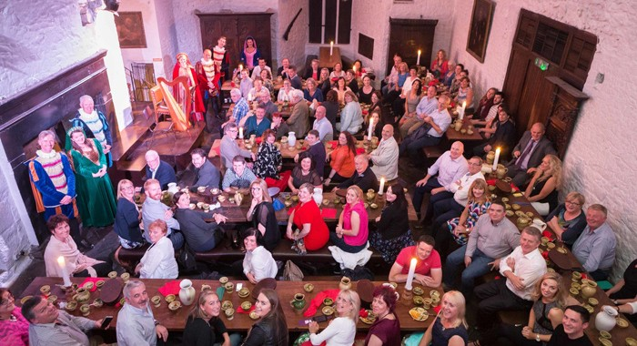 Bunratty Castle Medieval Banquet a Huge Hit with Corporate Audience