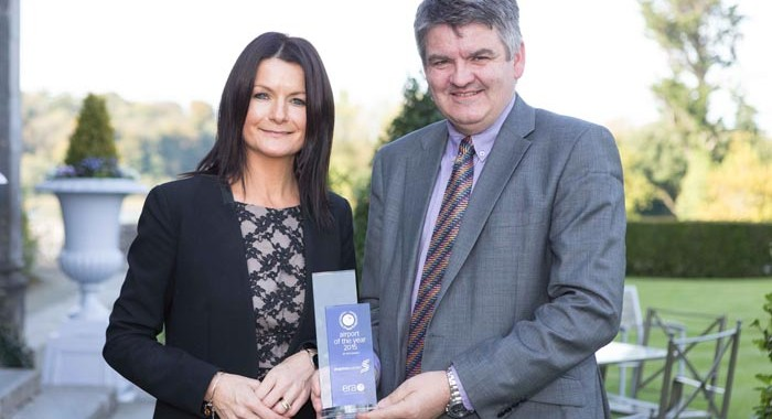 Shannon Chamber Congratulates Airport on winning top award from European airline association for second year running