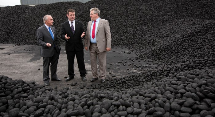 200 jobs for Ireland with go ahead for major low-smoke coal production facility in Foynes