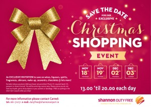 Christmas Shopping Invite 2015