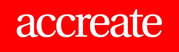 Accreate Logo RGB - High Res