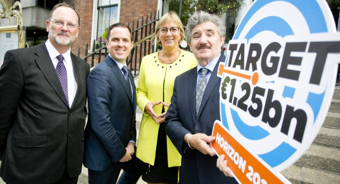 Minister Halligan highlights benefits to companies of participation in Horizon 2020 funding programme