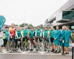 Shannon Airport & Aer Lingus take on 110km cycle challenge in aid of Shannon Group charities