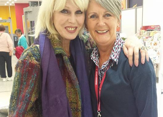 Joanna Lumley's Shannon Airport x-factor