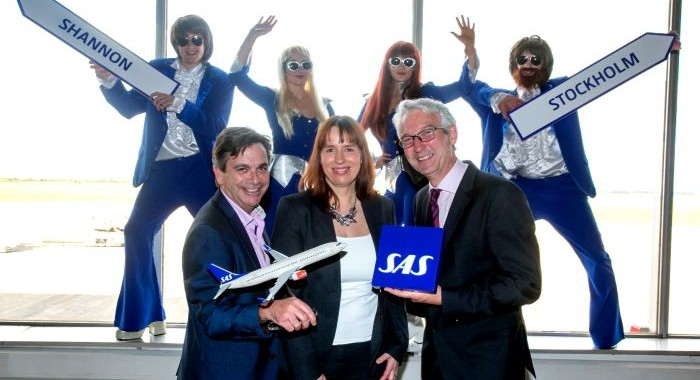 Shannon Airport welcomes new SAS service to Stockholm