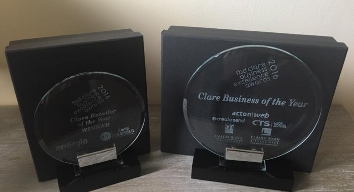 Gleeson Goldsmiths Named Clare Business of the Year