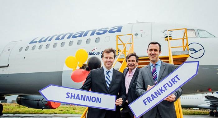 Shannon Airport welcomes new Lufthansa Frankfurt-Shannon service