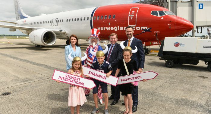 Exciting new transatlantic services commence at Shannon as Norwegian Air International begin operations