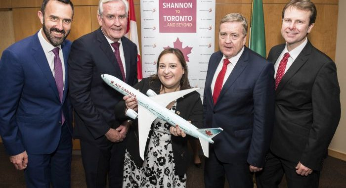 Shannon Airport welcomes new Toronto service