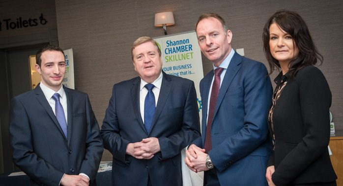 Shannon Chamber Skillnet Acutely Tuned into Members' Skills Requirements   Funding Approved to Deliver Comprehensive Training Programme in 2018