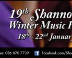 A Feast of Music to Suit all tastes in Sixmilebridge and Bunratty, Co Clare this weekend