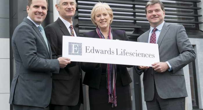 EDWARDS LIFESCIENCES TO OPEN OPERATIONS IN THE MID-WEST OF IRELAND TO SUPPORT GLOBAL SUPPLY NETWORK