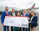 Air Canada inaugurates non-stop seasonal service between Shannon and Toronto
