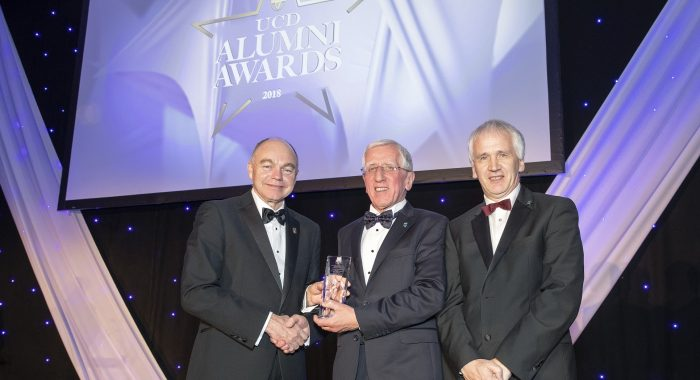 Ei Electronics Founding Director Honoured with Prestigious UCD Alumni Award