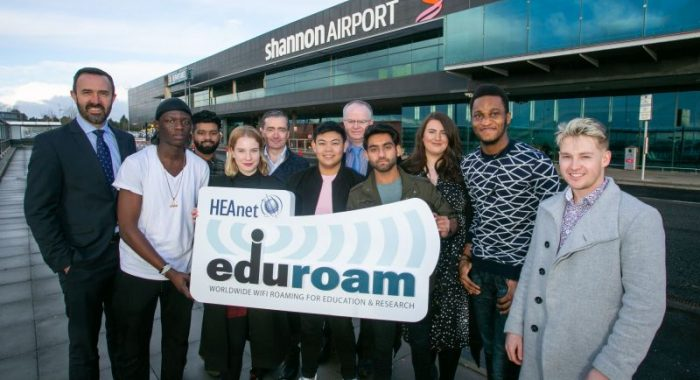 Shannon becomes first Irish airport to introduce eduroam wifi