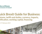 Quick Brexit Guide for Business: Customs, tariffs and duties, currency, imports, certification, working capital, financing