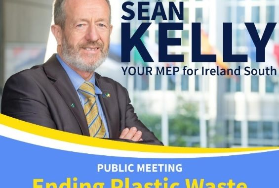'Ending Plastic Waste' Public Meeting with Sean Kelly MEP