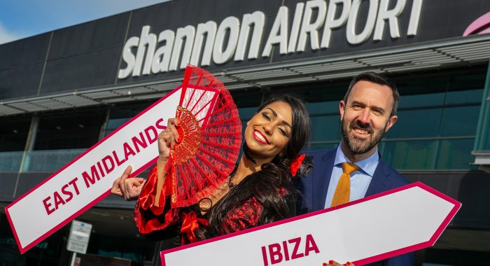 Shannon welcomes new twice-weekly Ryanair flights to Ibiza and East Midlands