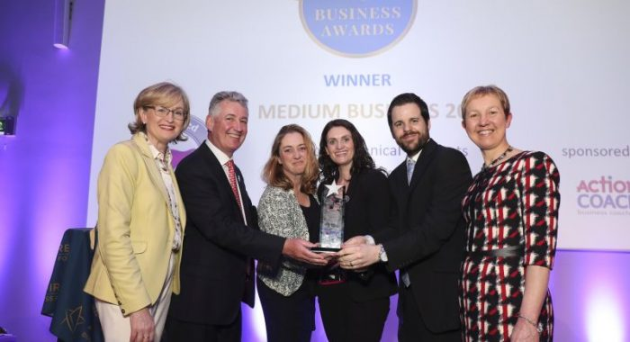 Shannon Company Scoops National Best Medium Business Award