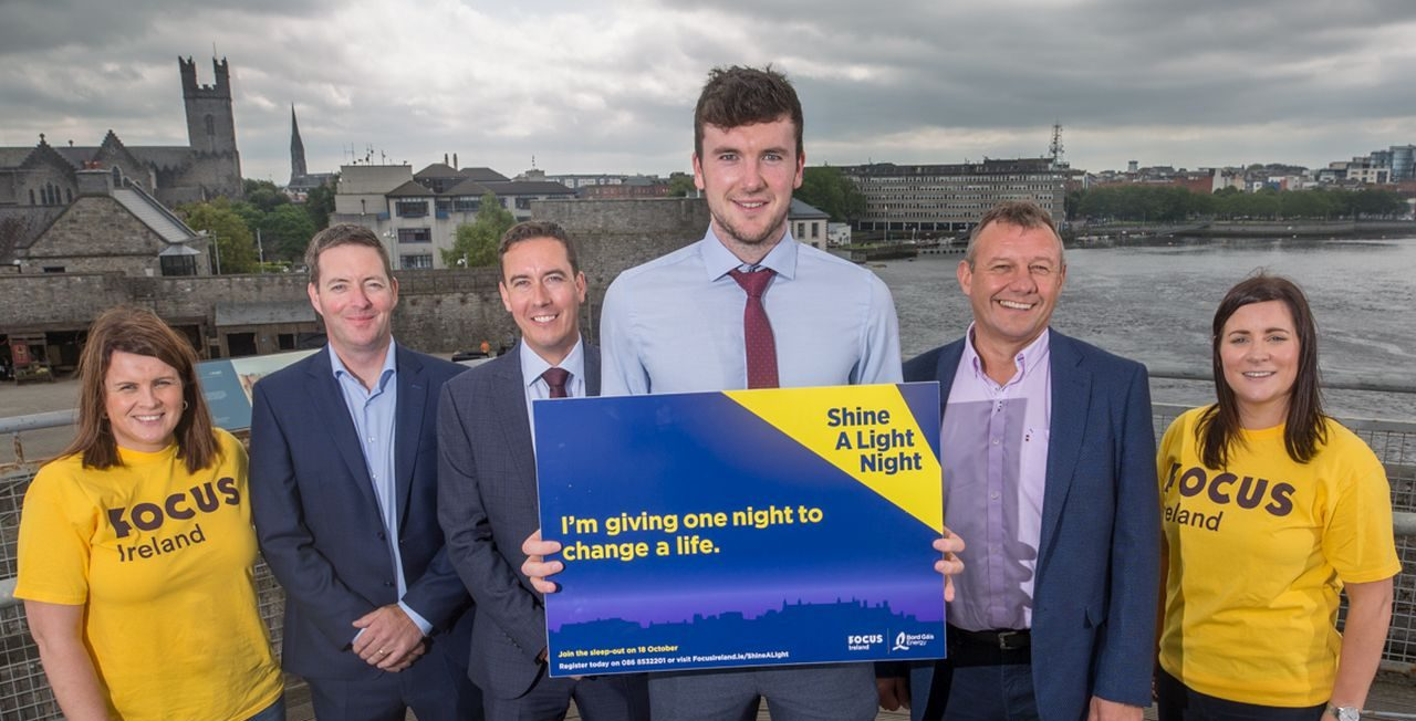 Focus Ireland announce King John's Castle to host Shine A Light Night 2019