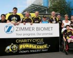 Zimmer Biomet Employees Take to the Road to Raise Funds for The Saoirse Foundation – BUMBLEance Children's National Ambulance Service