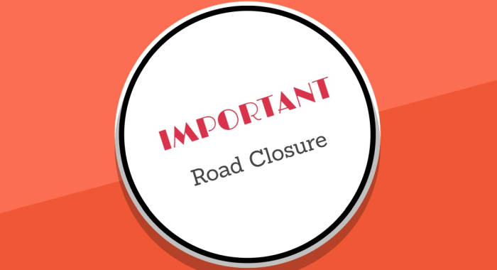 Temporary Road Closure on 5th September 2019
