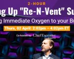 """Scaling Up """"Re-n-Vent Summit"""" with Verne Harnish, Thursday, 2 April"""