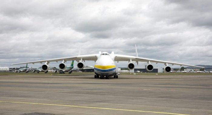 World's largest aircraft, the Antonov 225, touches down at Shannon Airport with PPE equipment