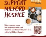 Milford Hospice Coffee Morning - Thursday, 24 September