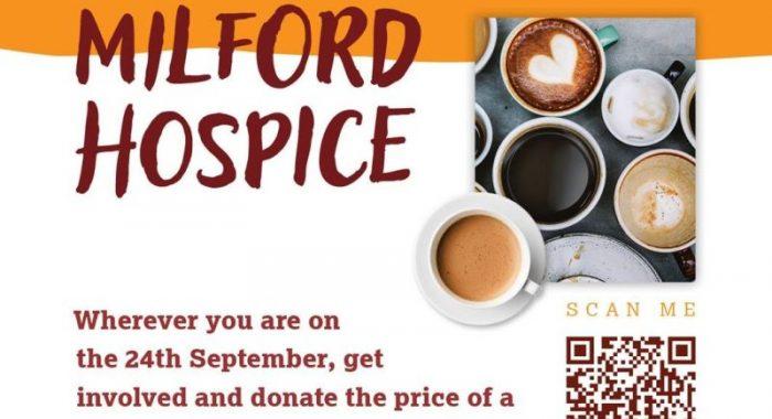 Milford Hospice Coffee Morning - Thursday, 24 September