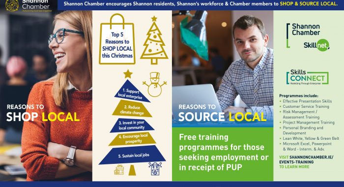 A Shift in Focus to Local…says Shannon Chamber
