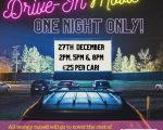 Drive-In Movies come to Shannon on Sunday, 27 December