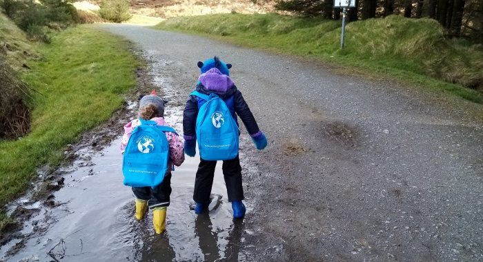 Celebrate World Water Day by doing a Mini Walk for Water at home
