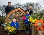 Primary school student wins competition to design a new Biodiversity Garden in Shannon