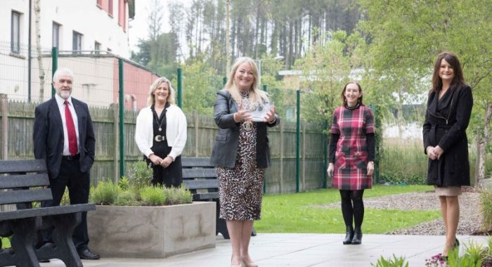 Chambers Ireland Award for 'Connections' project presented to Clare County Council library service