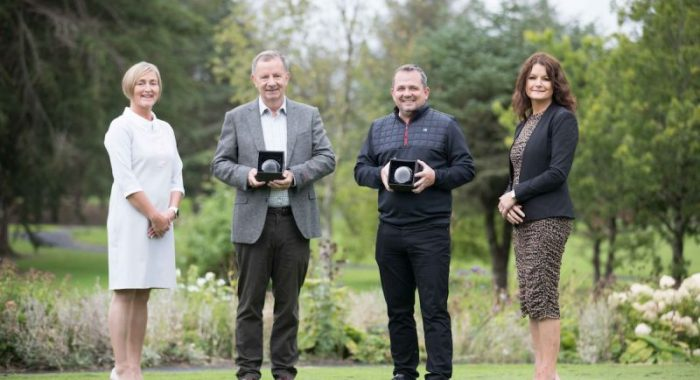 Career Decisions Team Claim Shannon Chamber Golf Classic Trophy