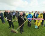 Turfs up in Clare as Irish Water turns the sod on new wastewater treatment plant for popular seaside destination