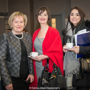 No repro fee- upskilling the mid west - 06/03/2017, From left to right: Yvonne Delaney - University of Limerick, Ellen O'Mahony - University of Limerick, Faye Canty - Kirby Group Engerineering .Photo credit Shauna Kennedy